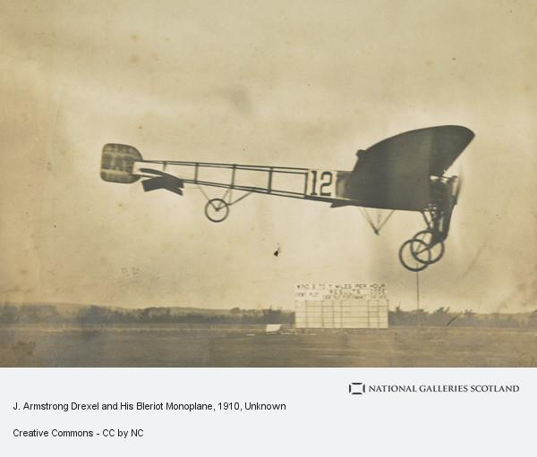 Unknown, J. Armstrong Drexel and His Bleriot Monoplane