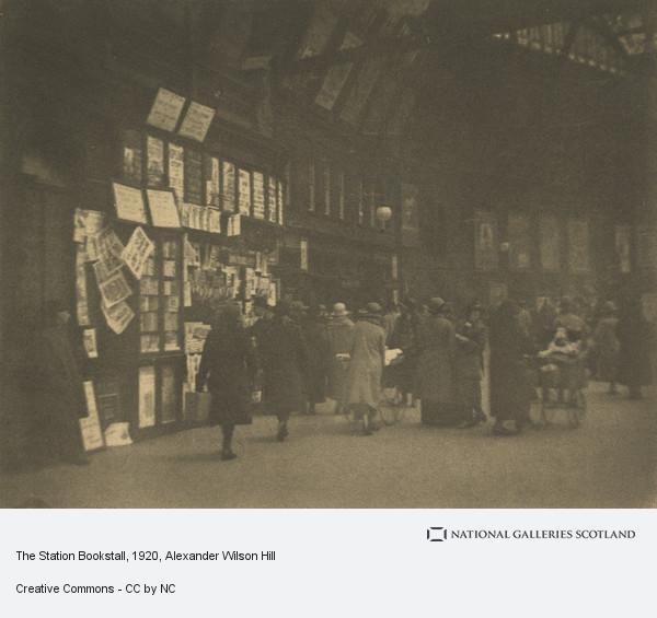 Alexander Wilson Hill, The Station Bookstall