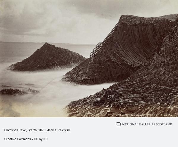 James Valentine, Clamshell Cave, Staffa