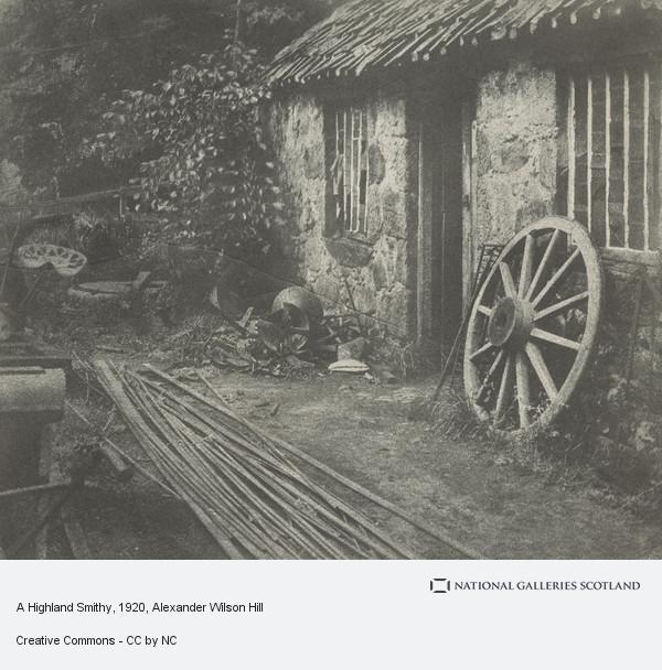 Alexander Wilson Hill, A Highland Smithy
