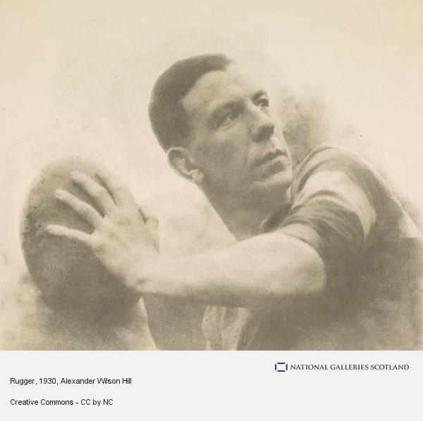 Alexander Wilson Hill, Rugger