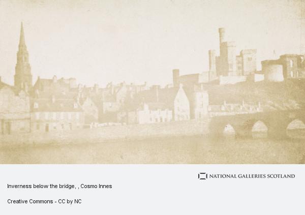 Cosmo Innes, Inverness Castle and Old Stone Bridge