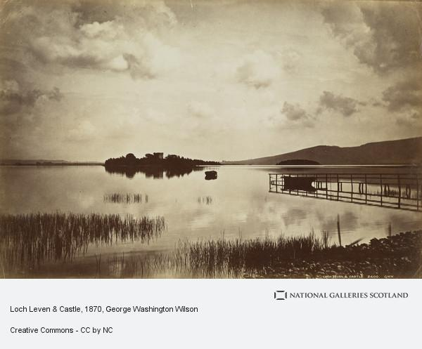 George Washington Wilson, Loch Leven & Castle