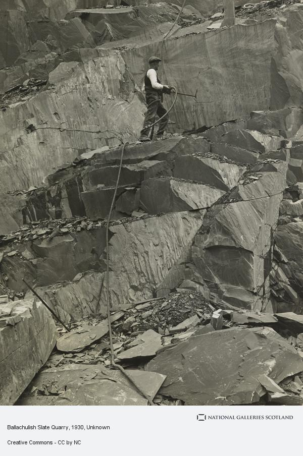 Unknown, Ballachulish Slate Quarry
