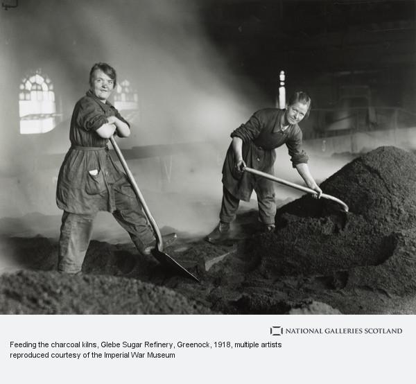 George P. Lewis, Feeding the charcoal kilns, Glebe Sugar Refinery, Greenock