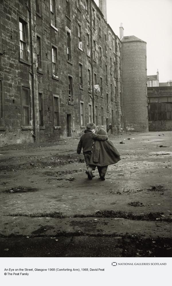 David Peat, An Eye on the Street, Glasgow 1968 (Comforting Arm)
