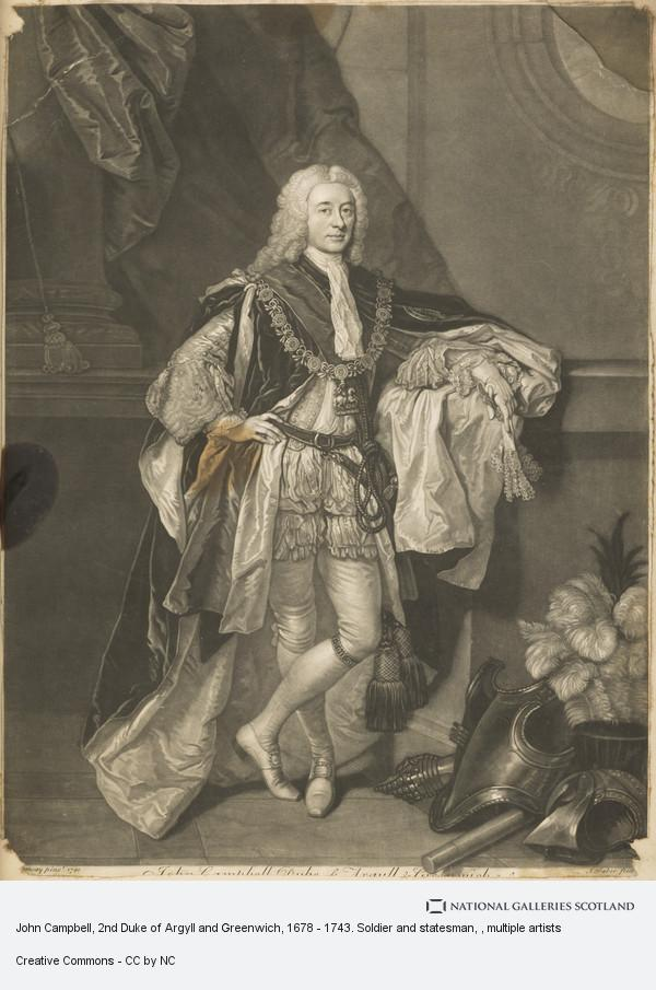 Allan Ramsay, John Campbell, 2nd Duke of Argyll and Greenwich, 1678 - 1743. Soldier and statesman