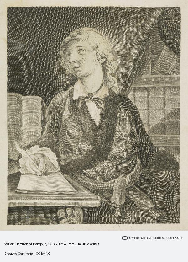 Sir Robert Strange, William Hamilton of Bangour, 1704 - 1754. Poet