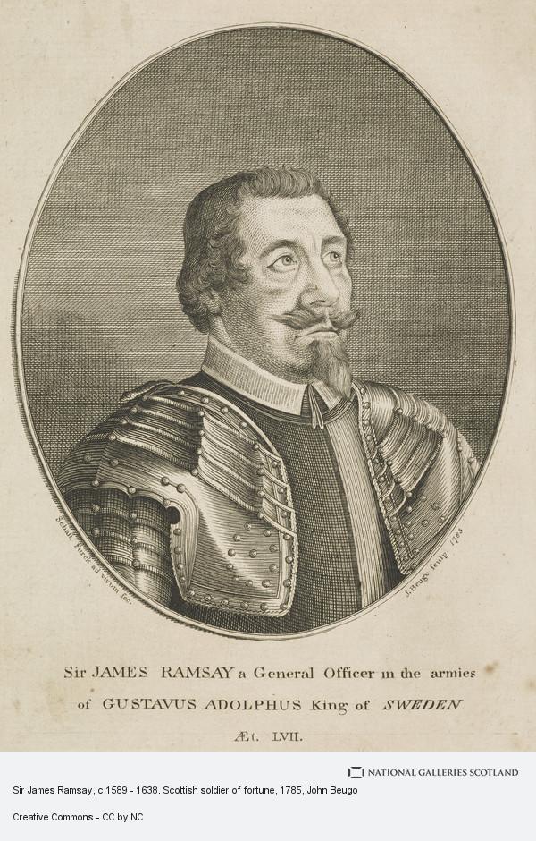 John Beugo, Sir James Ramsay, c 1589 - 1638. Scottish soldier of fortune