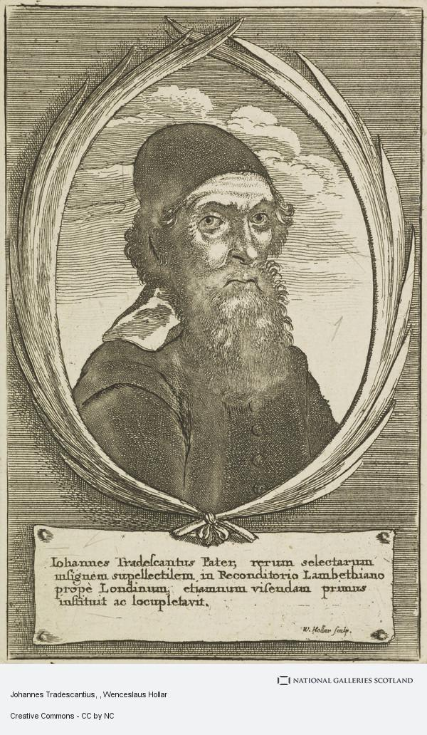 Wenceslaus Hollar, Johannes Tradescantius