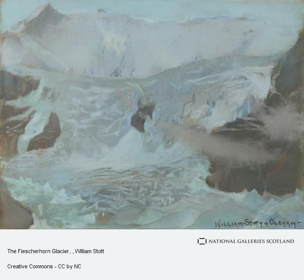 William Stott, The Fiescherhorn Glacier