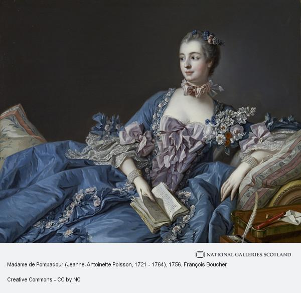 Francois Boucher, Madame de Pompadour (Jeanne-Antoinette Poisson, 1721 - 1764)
