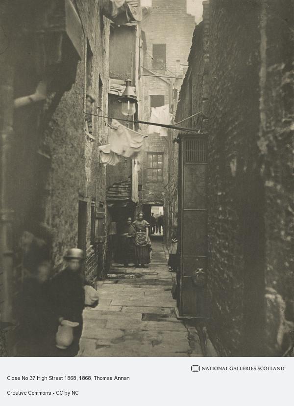 Thomas Annan, Close No. 37 High Street, Glasgow