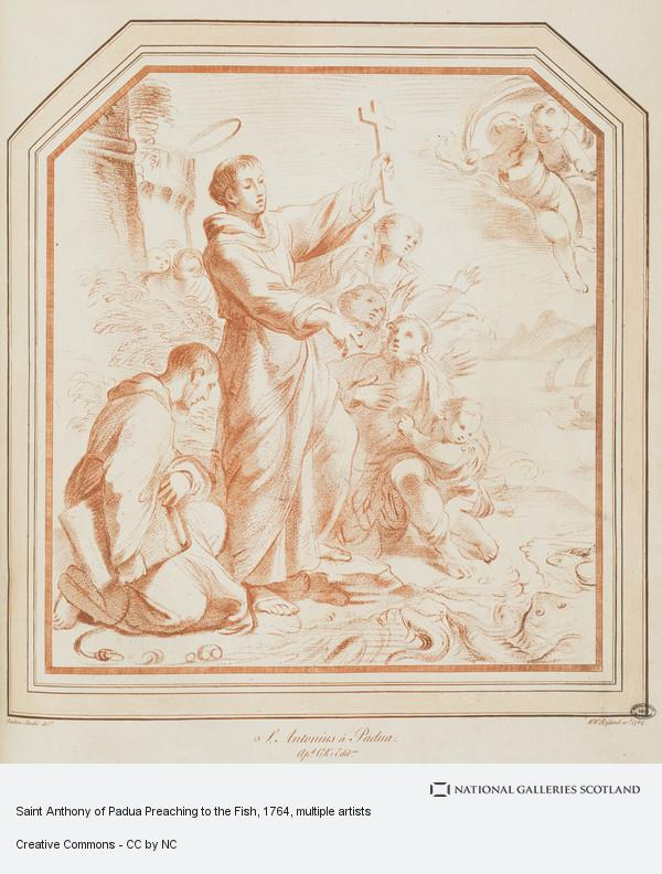 Andrea Sacchi, St. Antony of Padoua Preaching to the Fishes