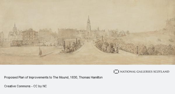 Thomas Hamilton, Proposed Plan of Improvements to The Mound