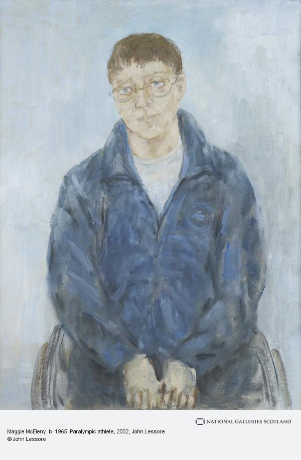 John Lessore, Maggie McEleny, b. 1965. Paralympic athlete