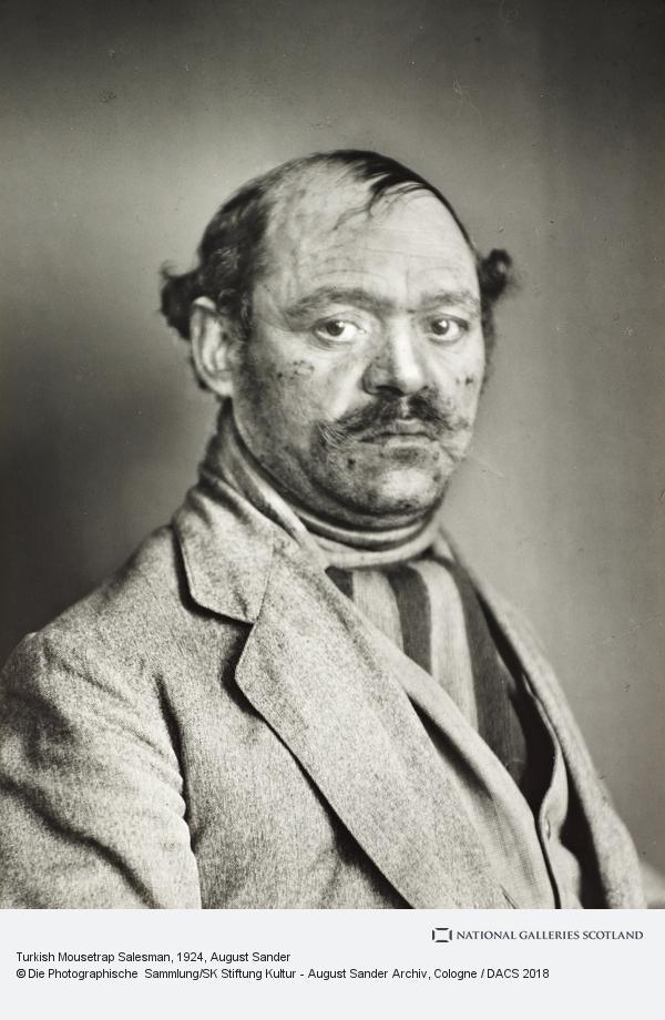 August Sander, Turkish Mousetrap Salesman, 1924-30 (1924 - 1930)