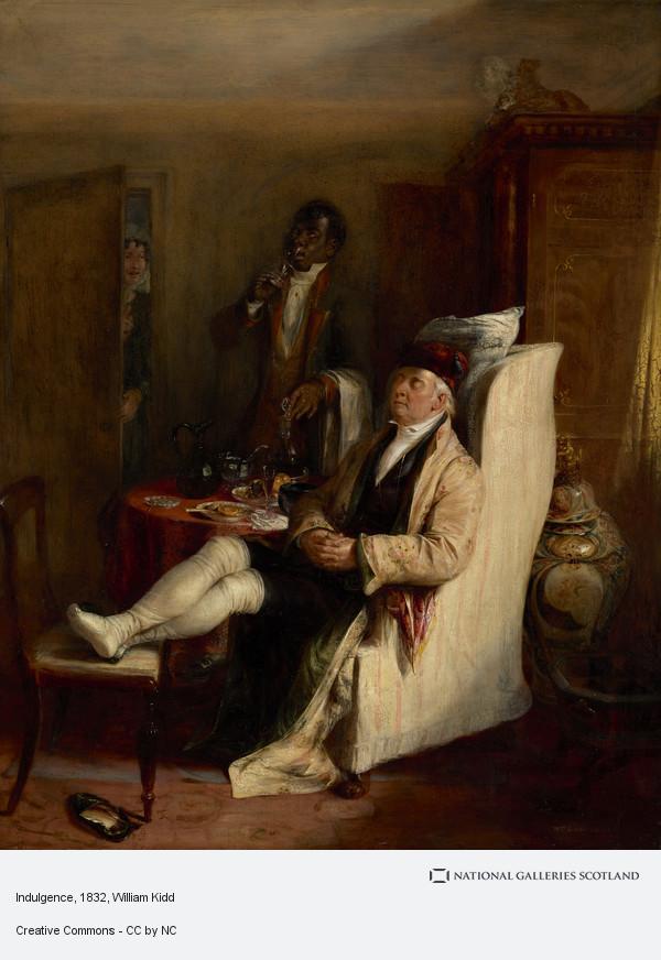 William Kidd, Indulging
