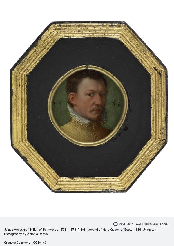 Unknown, James Hepburn, 4th Earl of Bothwell, c 1535 - 1578. Third husband of Mary Queen of Scots