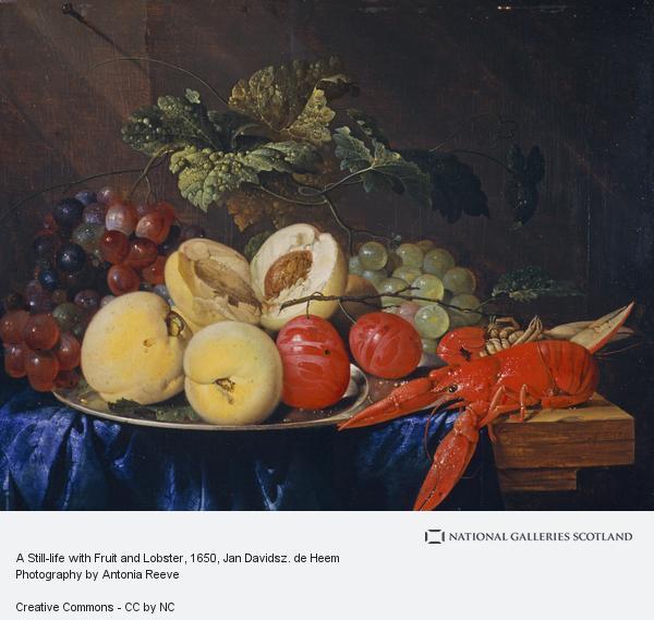 Jan Davidsz. de Heem, A Still-life with Fruit and Lobster