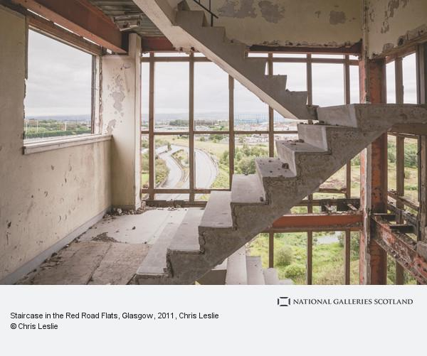Chris Leslie, Staircase in the Red Road Flats, Glasgow