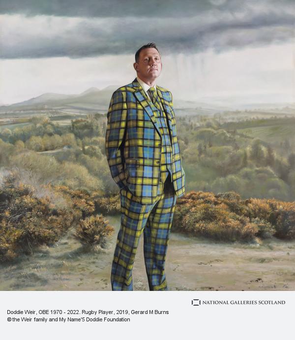 Gerard M. Burns, Doddie Weir, OBE b. 1970. Rugby Player