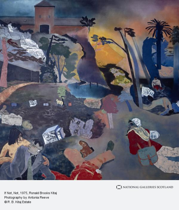 Ronald Brooks Kitaj, If Not, Not (1975 - 1976)