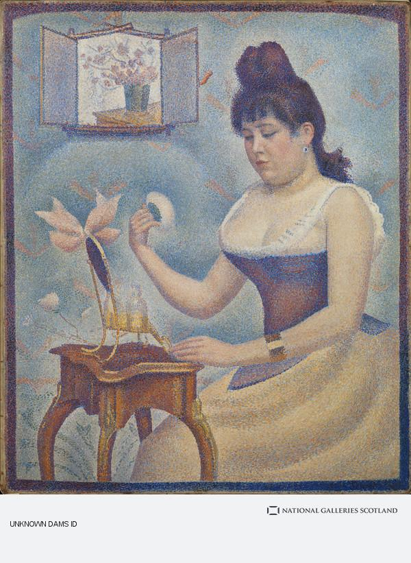 Georges Seurat, Young Woman Powdering Herself