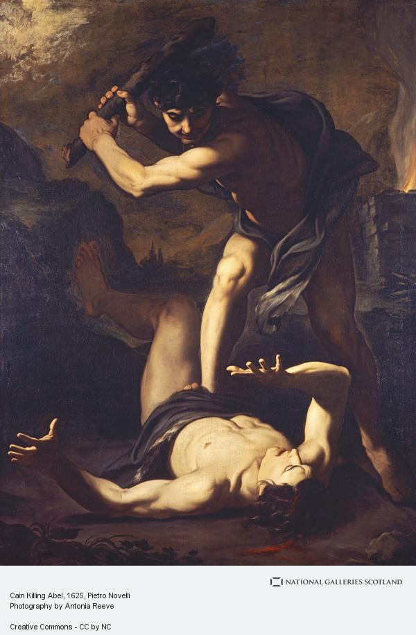 Pietro Novelli, Cain Killing Abel
