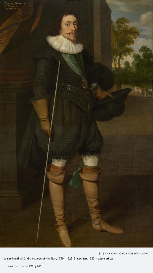 Unknown, James Hamilton, 2nd Marquess of Hamilton, 1589 - 1625. Statesman