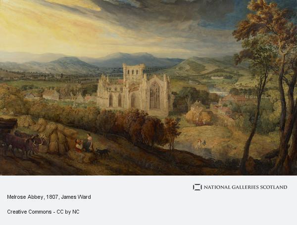 James Ward, Melrose Abbey