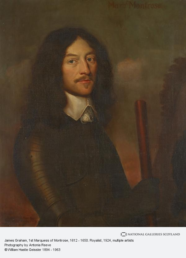 Willem van Honthorst, James Graham, 1st Marquess of Montrose, 1612 - 1650. Royalist