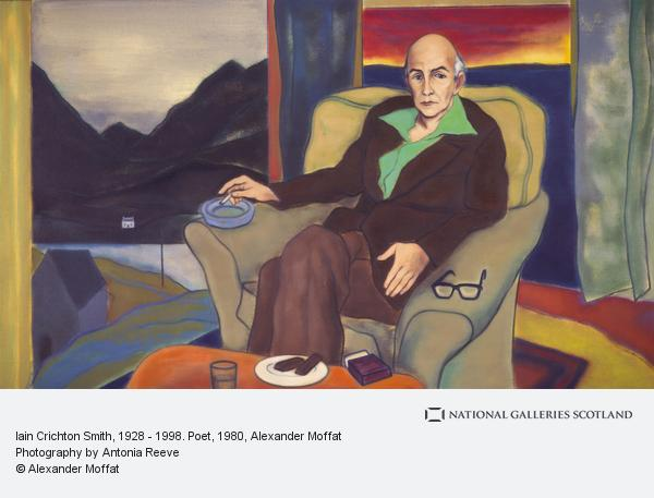 Alexander Moffat, Iain Crichton Smith, 1928 - 1998. Poet