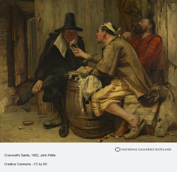 John Pettie, Cromwell's Saints