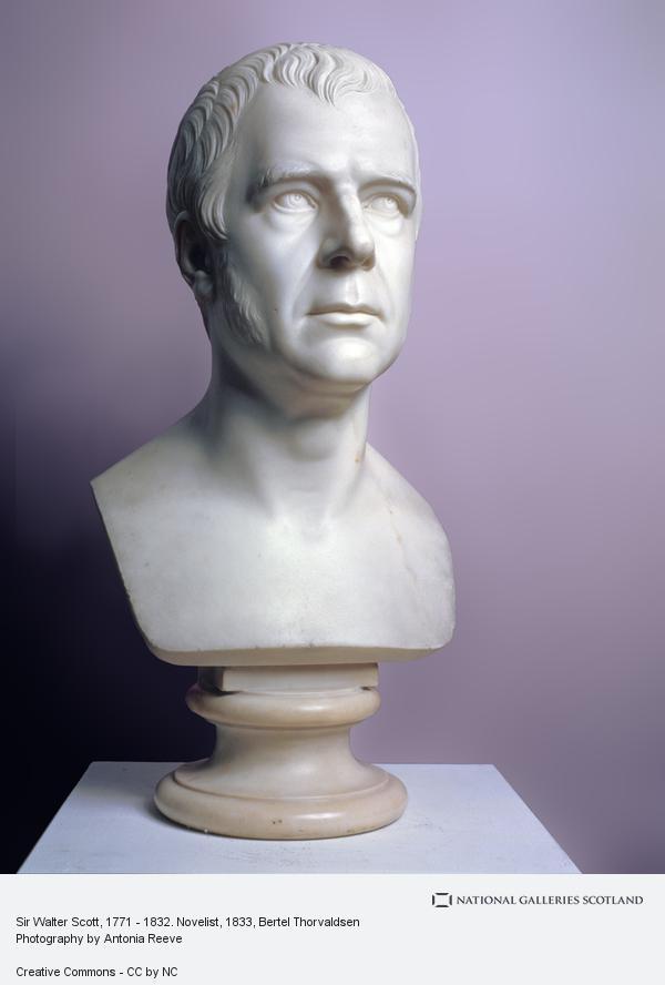 Bertel Thorvaldsen, Sir Walter Scott, 1771 - 1832. Novelist