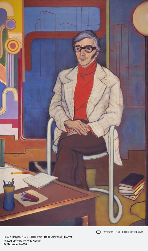 Alexander (Sandy) Moffat, Edwin Morgan, 1920 -2010. Poet