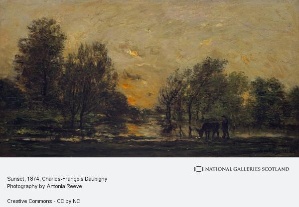 Charles-François Daubigny, Sunset