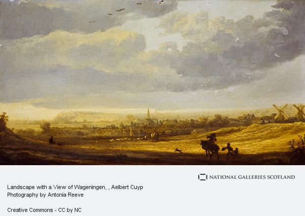 Aelbert Cuyp, Landscape with a Town