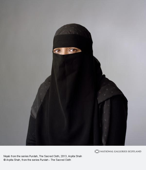 Arpita Shah, Niqab from the series Purdah, The Sacred Cloth