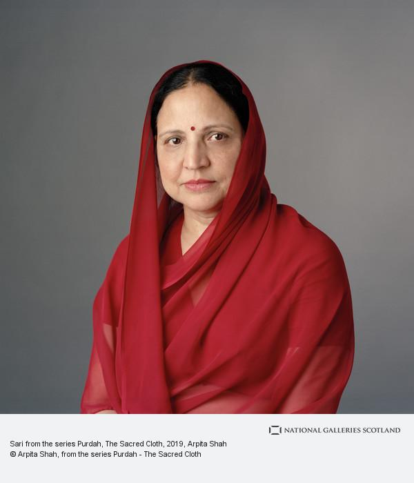 Arpita Shah, Sari from the series Purdah, The Sacred Cloth