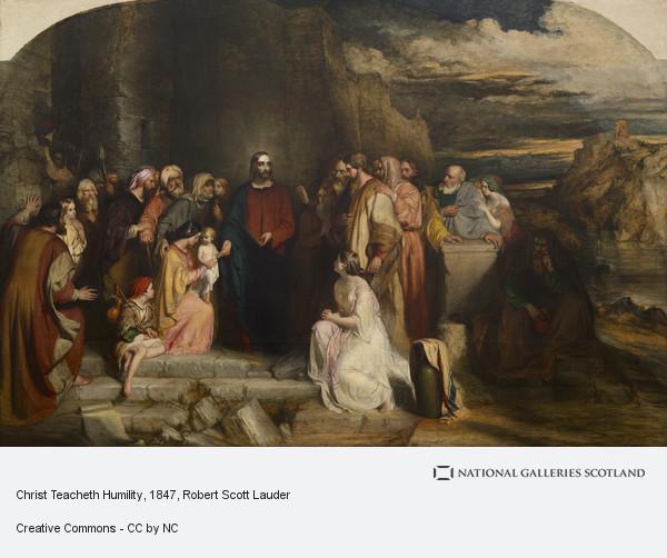 Robert Scott Lauder, Christ Teacheth Humility