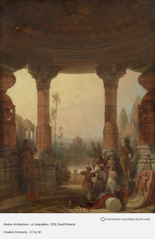 David Roberts, Hindoo Architecture - a Composition