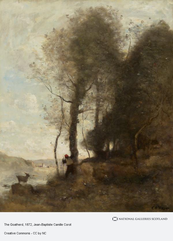 Jean-Baptiste Camille Corot, The Goatherd