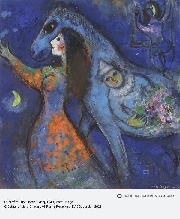 Marc Chagall, L'Écuyère [The Horse Rider]