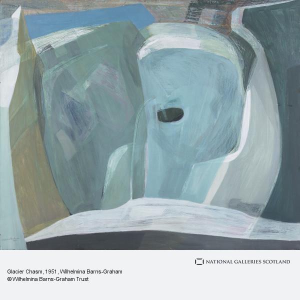 Wilhelmina Barns-Graham, Glacier Chasm