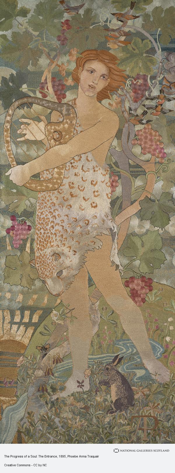 Phoebe Anna Traquair, The Progress of a Soul: The Entrance