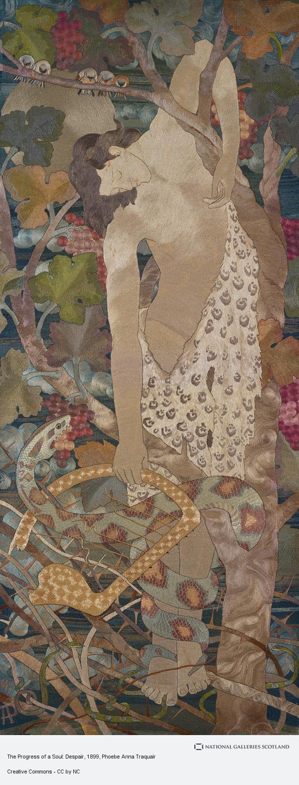 Phoebe Anna Traquair, The Progress of a Soul: Despair