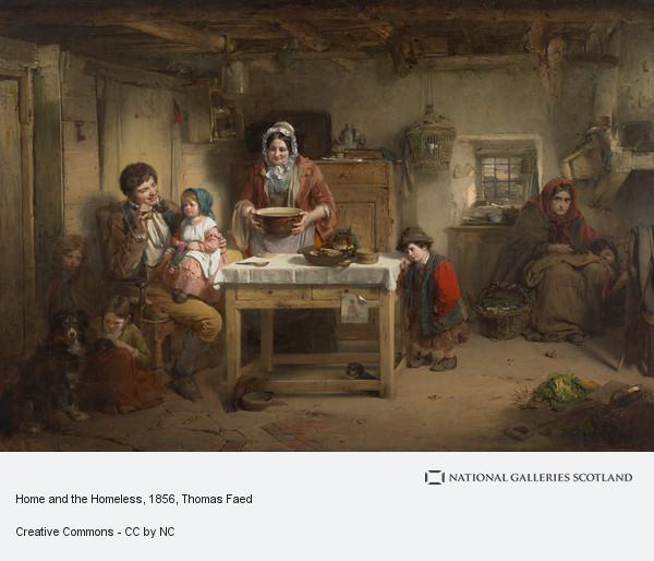 Thomas Faed, Home and the Homeless