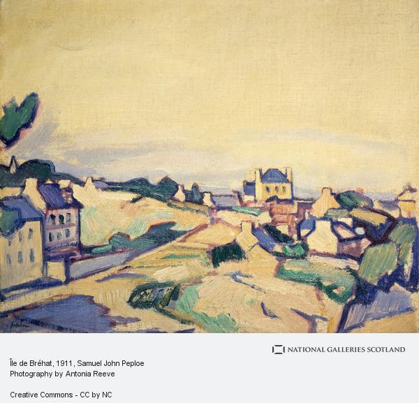 Samuel John Peploe, Île de Bréhat (1911)