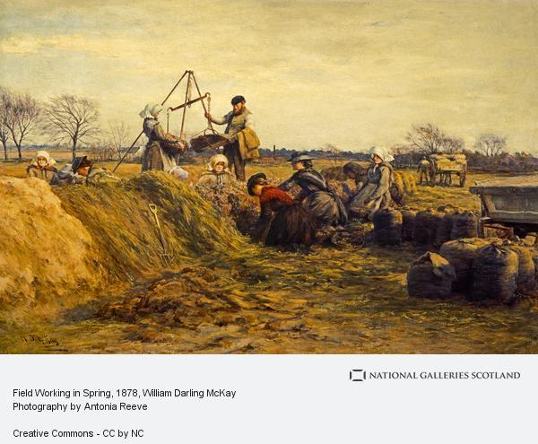 William Darling McKay, Field Working in Spring (1878)